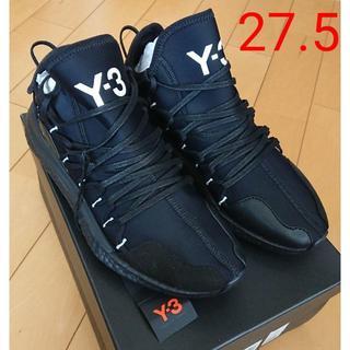 ワイスリー(Y-3)の【27.5】Y-3 kusari スニーカー yohji yamamoto 黒(スニーカー)