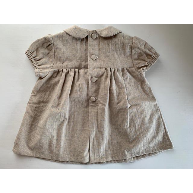 PETIT BATEAU(プチバトー)の子供服 ワンピース 80サイズ キッズ/ベビー/マタニティのベビー服(~85cm)(ワンピース)の商品写真