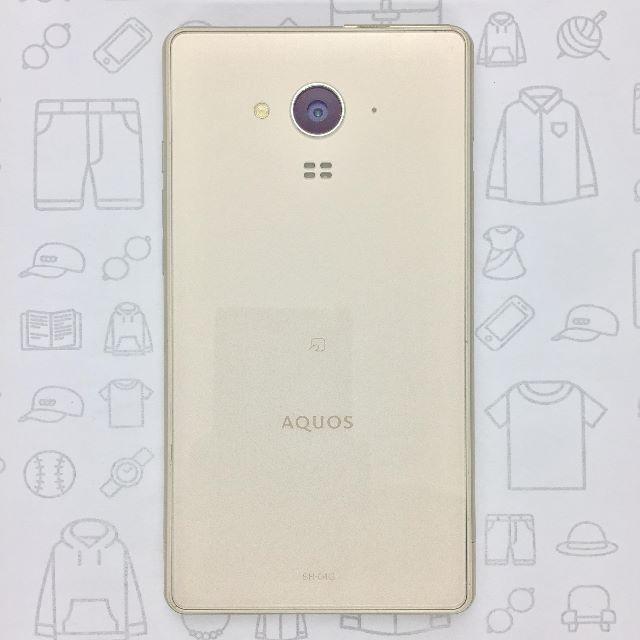 AQUOS(アクオス)の【ラクマ公式】SH-04G 353361060099735 スマホ/家電/カメラのスマートフォン/携帯電話(スマートフォン本体)の商品写真