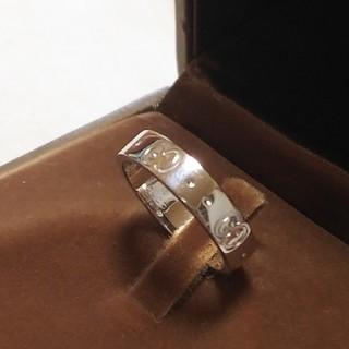 グッチ(Gucci)のGucciリング/750(K18ホワイトゴールド)(リング(指輪))