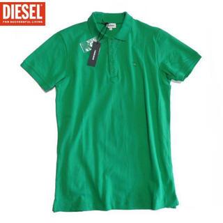 ディーゼル ポロシャツ メンズ M グリーン 新品タグ付き 送料無料