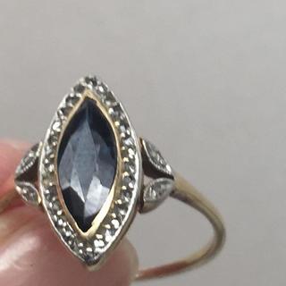 確認用  アンティークサファイア指輪(リング(指輪))
