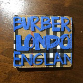バーバリー(BURBERRY)のBURBERRY バーバリー グラフィック 折り財布(折り財布)