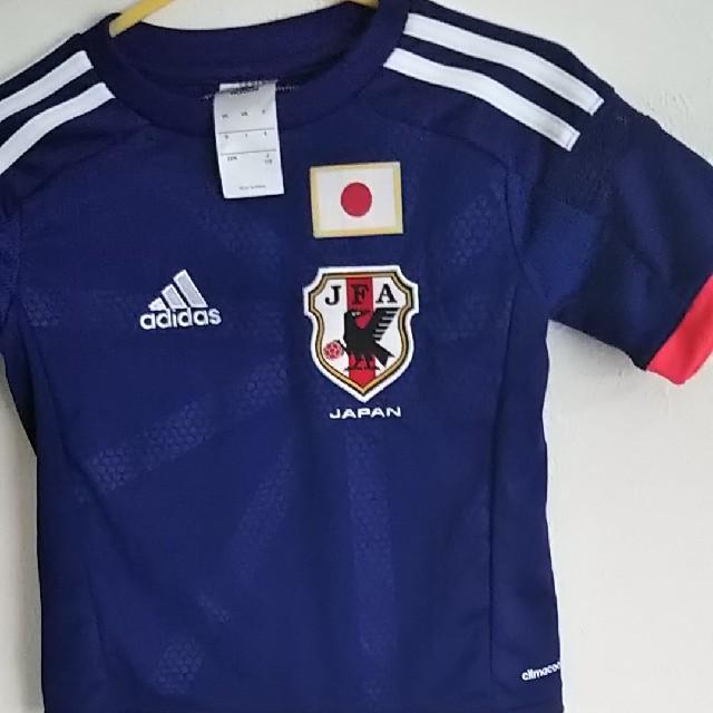 adidas(アディダス)のサッカー 日本代表 ユニフォーム110 スポーツ/アウトドアのサッカー/フットサル(ウェア)の商品写真