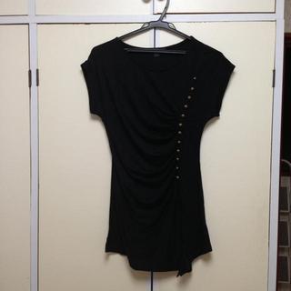フォーエバートゥエンティーワン(FOREVER 21)のTシャツ黒(Tシャツ(半袖/袖なし))