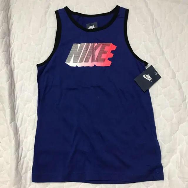 NIKE(ナイキ)の新品 キッズ ナイキタンクトップ キッズ/ベビー/マタニティのキッズ服 男の子用(90cm~)(Tシャツ/カットソー)の商品写真