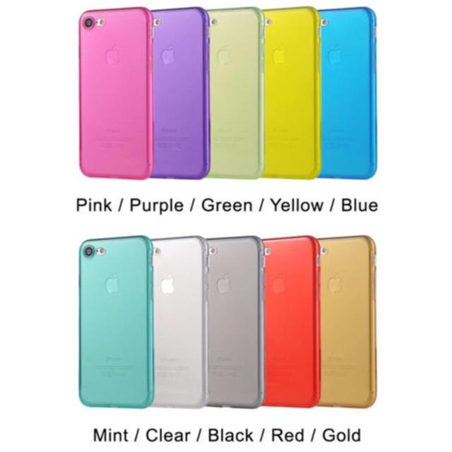 (人気商品) iPhone ソフトカバーケース (10色) スマホ/家電/カメラのスマホアクセサリー(iPhoneケース)の商品写真