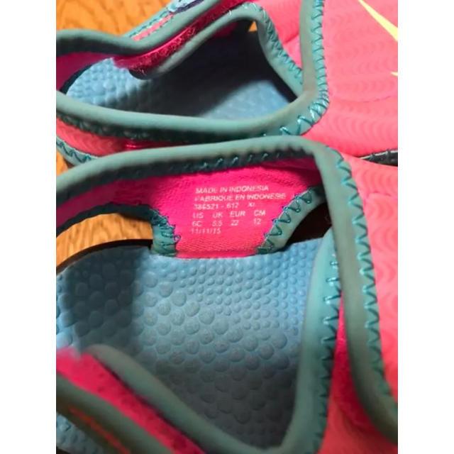 NIKE(ナイキ)のベビー サンダル ナイキ 12cm キッズ/ベビー/マタニティのベビー靴/シューズ(~14cm)(サンダル)の商品写真