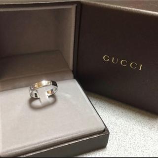 グッチ(Gucci)のGUCCI 指輪 14号 アイコンリング(リング(指輪))