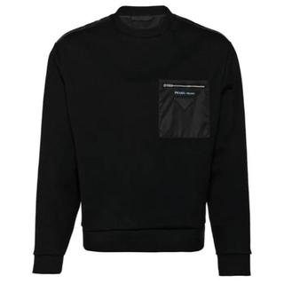 プラダ(PRADA)のPRADA ジップポケット スウェットシャツ(スウェット)