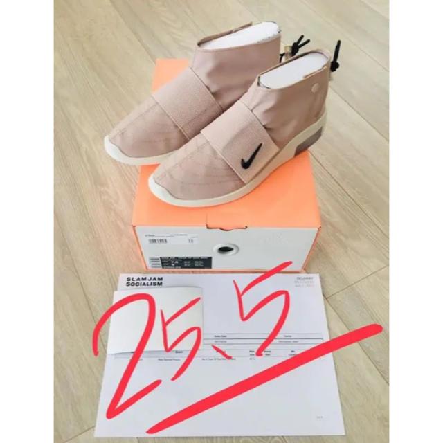 NIKE(ナイキ)の【しょーしょー様専用】NIKE Air X Fear Of God Moc メンズの靴/シューズ(スニーカー)の商品写真