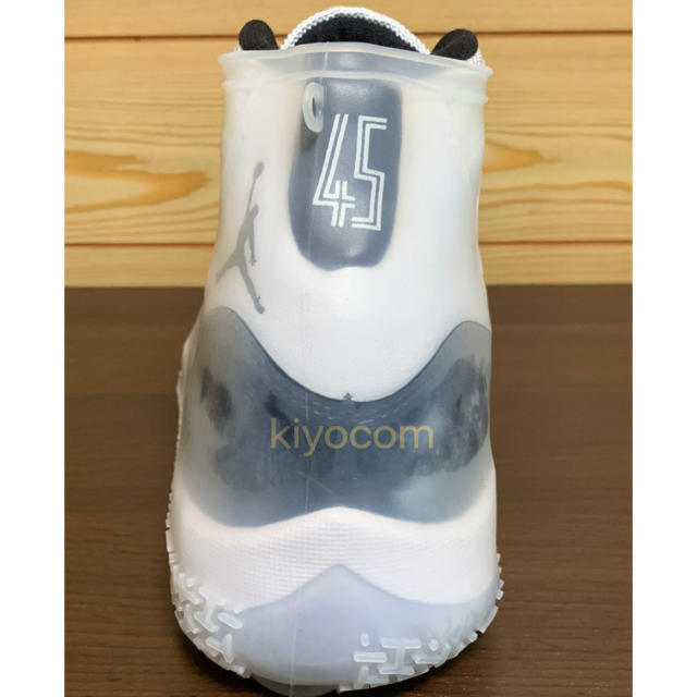 NIKE(ナイキ)の⭐レインソックス⭐半透明スニーカー防水socksラバー靴紐JORDAN11送料込 メンズの靴/シューズ(スニーカー)の商品写真