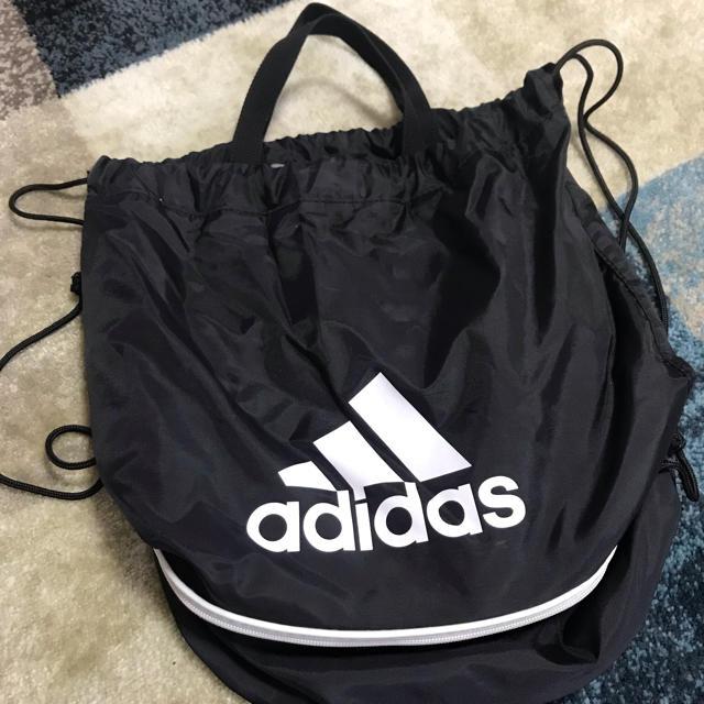 adidas(アディダス)のアディダス★プールバック★ブラック キッズ/ベビー/マタニティのこども用バッグ(その他)の商品写真