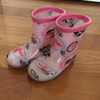 ディズニー(Disney)のミニーマウス長靴14センチ(長靴/レインシューズ)