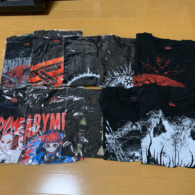 BABYMETAL(ベビーメタル)のBABYMETAL Tシャツ セット エンタメ/ホビーのタレントグッズ(ミュージシャン)の商品写真