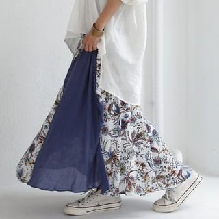 antiqua - 新品タグ付き アンティカ 切り替えスカート