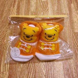 Disney - ディズニー ぷーさん ベビー 靴下 12〜14cm