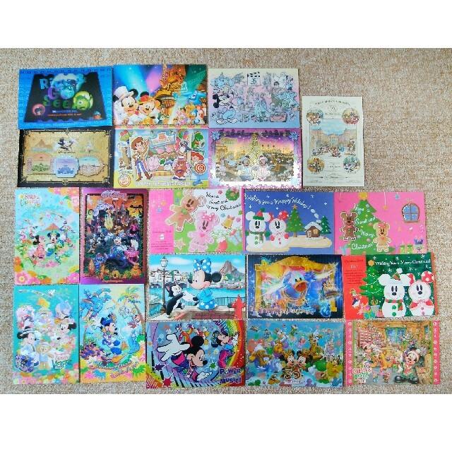 Disney(ディズニー)の東京ディズニーリゾート ポストカード セット 41枚+ポストカードケース エンタメ/ホビーのおもちゃ/ぬいぐるみ(キャラクターグッズ)の商品写真
