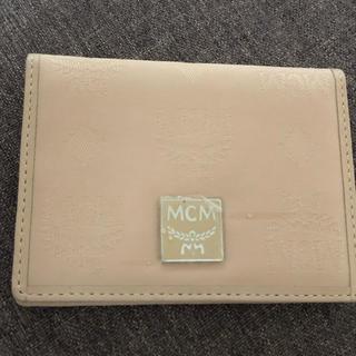 エムシーエム(MCM)のMCM定期入れ、免許証入れ(名刺入れ/定期入れ)