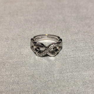 ティファニー(Tiffany & Co.)のティファニー ダブルラビングハート ダイヤリング(リング(指輪))