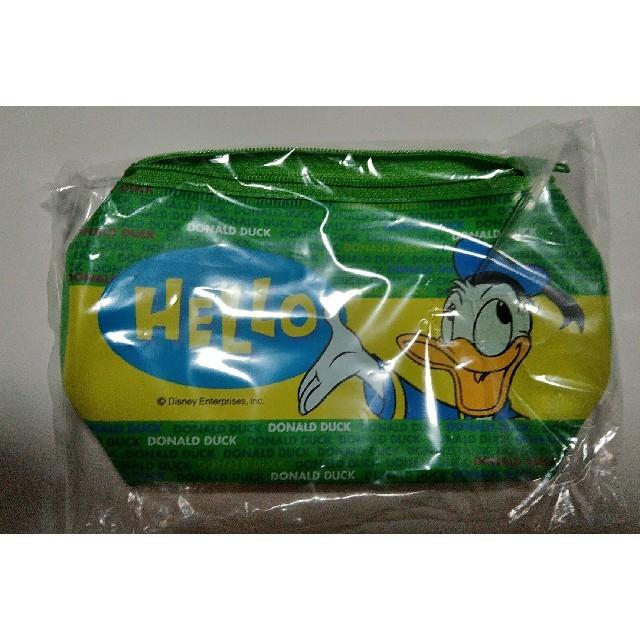 Disney(ディズニー)のディズニー ドナルド ポーチ エンタメ/ホビーのおもちゃ/ぬいぐるみ(キャラクターグッズ)の商品写真