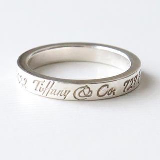 ティファニー(Tiffany & Co.)のティファニー ノーツ リング シルバー(リング(指輪))