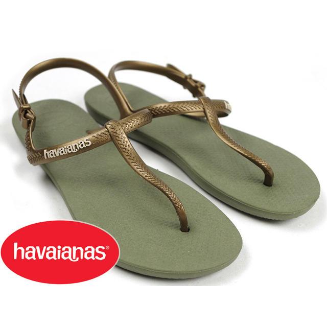 havaianas(ハワイアナス)の【未使用】ビーチサンダル 25cm〜  レディースの靴/シューズ(ビーチサンダル)の商品写真