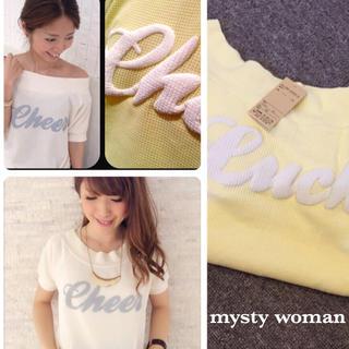 ミスティウーマン(mysty woman)のmysty woman☆新品タグ付き(Tシャツ(半袖/袖なし))