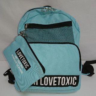 ラブトキシック(lovetoxic)の新品 ラブトキシック LOVETOXIC リュックサック ブルー(リュックサック)