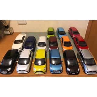 トヨタ(トヨタ)の非売品 トヨタ ミニカー パッソ アクア クラウン カラーサンプル まとめ売り(ミニカー)