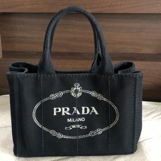 プラダ(PRADA)のPRADA カナパ 黒(ハンドバッグ)