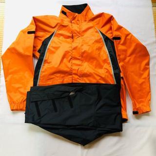 ヤマハ(ヤマハ)の1回使用の美品です。 YAMAHA サイバーテックスⅢ バイク用 レインスーツ(装備/装具)