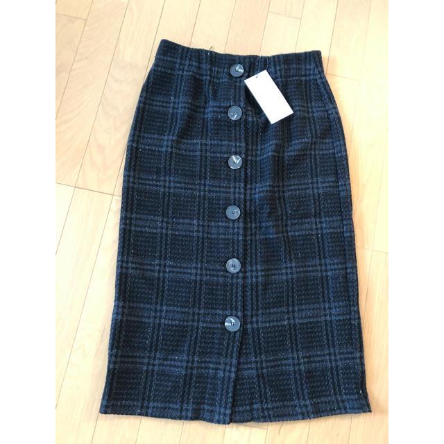 ZARA(ザラ)の新品未使用タグ付きZARAツイードスカート レディースのスカート(ロングスカート)の商品写真