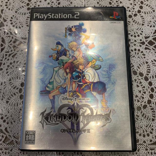 SQUARE ENIX(スクウェアエニックス)のキングダムハーツ Ⅱ エンタメ/ホビーのテレビゲーム(家庭用ゲームソフト)の商品写真