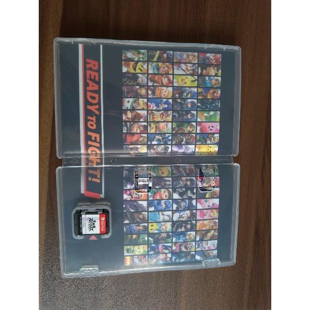 Nintendo Switch(ニンテンドースイッチ)の任天堂 Switch 大乱闘スマッシュブラザーズ カセット エンタメ/ホビーのテレビゲーム(家庭用ゲームソフト)の商品写真