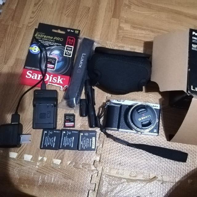 Panasonic GX7MK2 付属品多数 セット スマホ/家電/カメラのカメラ(ミラーレス一眼)の商品写真