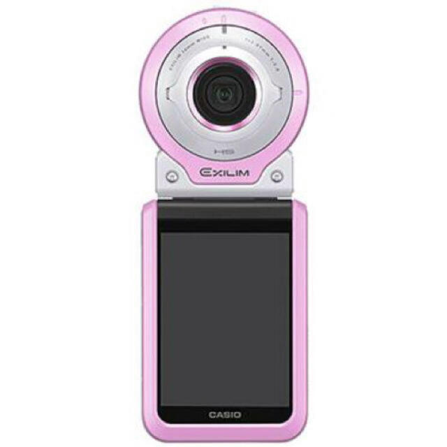 CASIO(カシオ)のCASIO EXILIM EX-FR100LPK [ピンク] スマホ/家電/カメラのカメラ(コンパクトデジタルカメラ)の商品写真