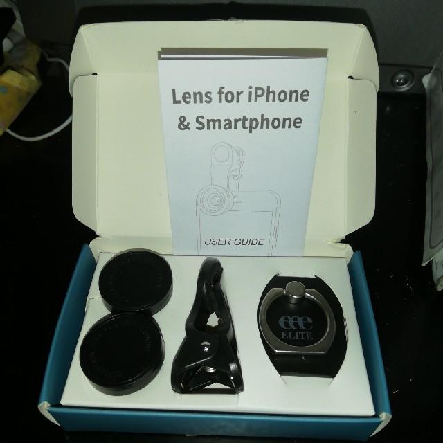 ヒルトンエリート スマホ用レンズ スマホ/家電/カメラのカメラ(レンズ(ズーム))の商品写真