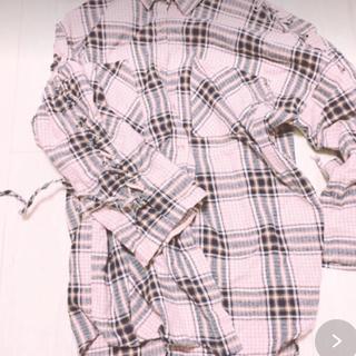 ホッピン(HOTPING)のSECRET LABELチェックシャツ♪韓国(シャツ/ブラウス(長袖/七分))
