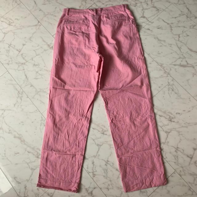 Ralph Lauren(ラルフローレン)のRalph Lauren (ラルフローレン) ピンク ワイドパンツ レディースのパンツ(チノパン)の商品写真
