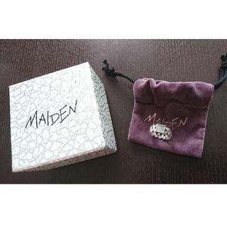 マザー(mother)のMAIDEN/DISCO/新品未使用/silverリング/#6(リング(指輪))