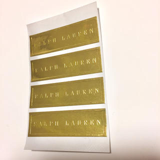 ラルフローレン(Ralph Lauren)のラルフローレン シール4枚(ショップ袋)