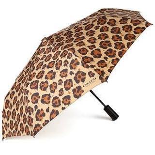 コーチ(COACH)のCoach Large Compact Umbrella 女性用 折り畳み 傘(傘)