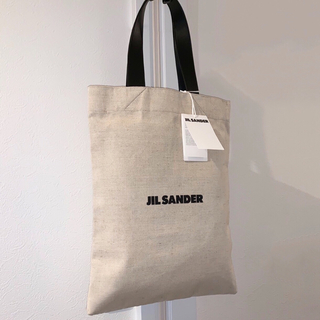 Jil Sander - ジルサンダー JIL SANDER ロゴ キャンバス トートバッグ 新作