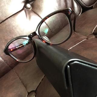 アヤメ(Ayame)の美品 ayame 伊達眼鏡 NEWOLD DEMI 辺見えみり 愛用(サングラス/メガネ)