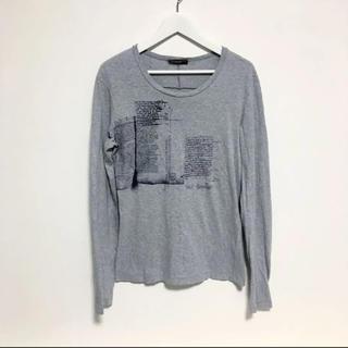 ニールバレット(NEIL BARRETT)のニールバレット ロンT  Tシャツ カットソー グレー 美品 人気モデル レア(Tシャツ/カットソー(七分/長袖))