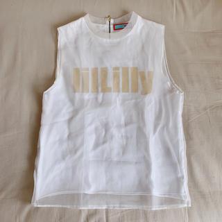 リルリリー(lilLilly)のlilLillyトップス♡(シャツ/ブラウス(半袖/袖なし))