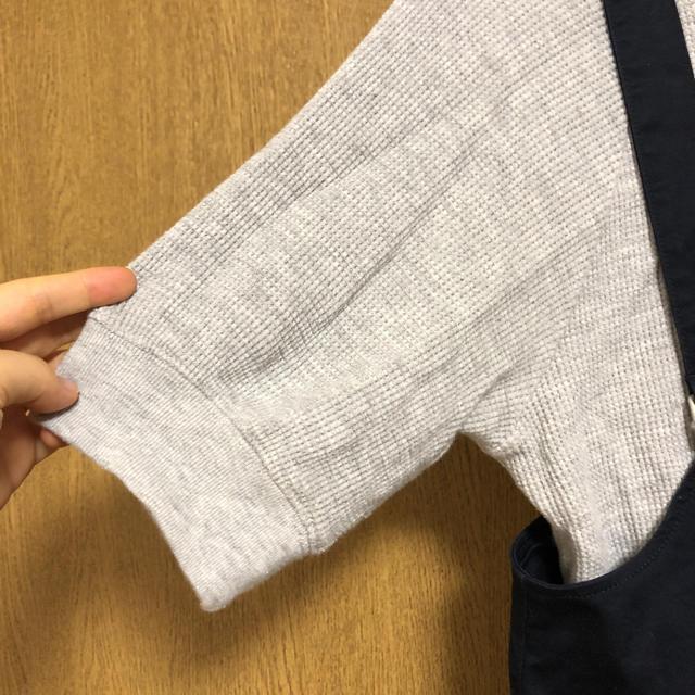 GU(ジーユー)のGU チノフロントボタンサロペットスカート  レディースのパンツ(サロペット/オーバーオール)の商品写真
