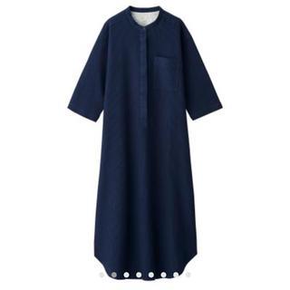 ムジルシリョウヒン(MUJI (無印良品))のワッフル織り 七分袖クルタ(ルームウェア)