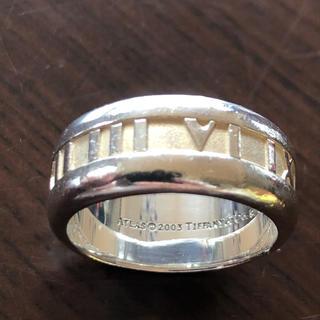ティファニー(Tiffany & Co.)の本物  18号 ティファニー アトラスリング シルバーリング (リング(指輪))